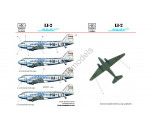 HAD 144044 - C-47/LI-2  MALÉV  (HA-TSA, HA-LIO) NEW print for Eastern Exp
