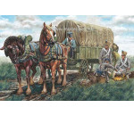 Italeri 6886 - NAPOLEONIC WARS - FRENCH SUPPLY WAGON