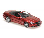 Maxichamps 940037530 - MERCEDES-BENZ SL-CLASS (R230) - ű2008 - RED METALLIC
