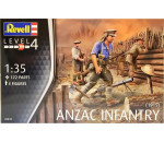 Revell 2618 - ANZAC Infantry (1915) WWI