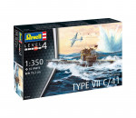 Revell 5154 - German sub. Type VII C/41