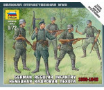 Zvezda 6105 - German Infantry  1939-1942 ( Military small sets)